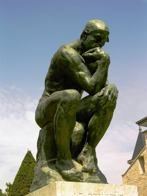 Photo of Rodin's The Thinker